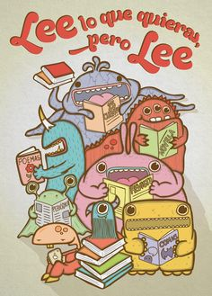 ( ♪ ) ✿ Sintonía literaria ✿ { ♫ }: Carteles de animación a la lectura