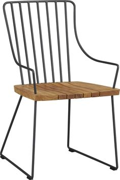 LOVE these for the deck!   Berkshire Chair  | Crate and Barrel