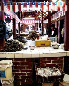 Municipal Market, Puerto Montt, Chile