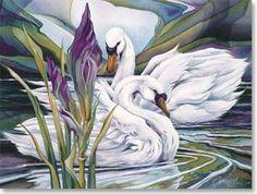 Anniversary Card - Even in Silence, Love Sings | Jody Bergsma | 45757 | Leanin' Tree