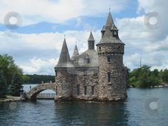 Boldt castle on Lake Ontario Canada