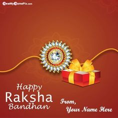 Happy Raksha Bandhan Wishes 2021 Best Collection Greeting Message And Quotes Card Edit Customized Name Writing Free Application Tools, Write MY Name On Beautiful Latest Celebration Festival Raksha Bandhan Pictures Personalized Name Generator Option, New Rakhi Day Wish You Brother or Sister Name High Quality Wallpaper Download. Happy Raksha Bandhan Wishes, Raksha Bandhan Greetings, Wedding Anniversary Quotes, Anniversary Cards, Rakhi Day, Raksha Bandhan Pics, Happy Rakshabandhan, Name Writing, Wishes Images