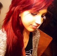 Used vampire red by manic panic over light brown/red hair.