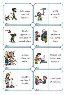 3 dominos: de la compréhension de phrases, de la syntaxe et un entraînement de la voie d'adressage, plutôt sympa :)
