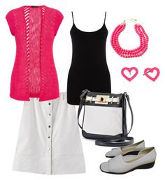 Summer Style #2 by gillgal on Polyvore featuring maurices, Oasis, Apt. 9, Amrita Singh and Marc by Marc Jacobs
