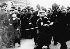"""""""November Black Friday, when 300 suffragettes went to protest at Westm. Black Friday Fights, Best Black Friday, Black Friday History, Black History, St Margaret, 27 Years Old, London Photos, Old London, Women In History"""
