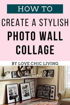 10 of the Best Wall Collage Ideas for your home. Bring interest to walls throughout your home. Learn how to a make stylish wall art collage that suits your home. Home Decor Trends, Home Decor Inspiration, Collage Ideas, Photo Wall Collage, Modern Wall Decor, Cool Walls, Wall Ideas, House Colors, Suits
