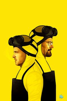 """Awesome Breaking Bad Art Exhibition :: """"The Cooks"""" by Mike Mitchell // > Grabski Evolution Art Artwork Art director Visual Graphic Composition Poster Design Inspiration Awesome Mike Mitchell, Breaking Bad Arte, Serie Breaking Bad, Walter White, Cultura Pop, Breking Bad, Bad Fan Art, Wallpaper S8, Poster A3"""