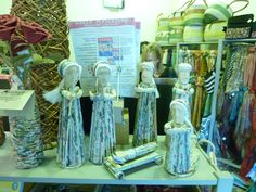 rolled paper nativity