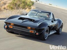 Refurbished corvette stingray 67