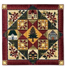 block of the month quilts | Cottage Quilting Online: O Tannenbaum Block of the Month Quilt (BOM)