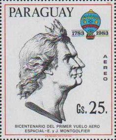 montgolfier-Briefmarke-Paraguay