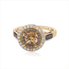 Le Vian setting....with a circle diamond this would be perfect.