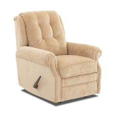 Bring comfort and elegance to your seating area with the Klaussner Sand Key Tufted Rocking Recliner . Welted, rolled arms and a button-tufted backrest. Cozy Chair, Upholstered Chairs, Foot Rest, Seat Cushions, Home Furnishings, Armchair, Key, Oatmeal, Sam's Club