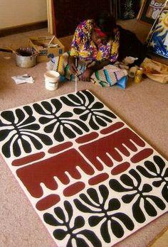 Mitjili Napurrula Aboriginal artist Plus Aboriginal Painting, Aboriginal Artists, Dot Painting, Aboriginal Symbols, Indigenous Australian Art, Indigenous Art, Motifs Textiles, Afrique Art, Art Premier