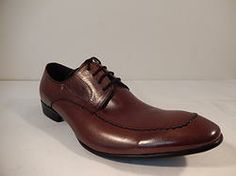 "Encore ""U"" Hand Stitched Dress Shoe Brown"