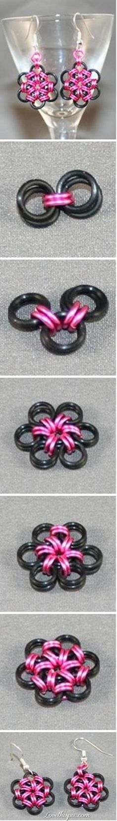 DIY Creative Metal Ring Earrings Pictures, Photos, and Images for Facebook, Tumblr, Pinterest, and Twitter