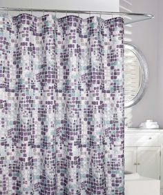 Remarkable Purple And Gray Shower Curtain Gallery