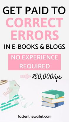 30 Work At Home Proofreading Jobs For Beginners - Fatten The Wallet work from home, Ways To Earn Money, Earn Money From Home, Earn Money Online, Way To Make Money, Making Money From Home, Online Earning, Money Today, Money Tips, Legit Work From Home