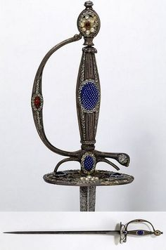 Small Sword Dated: circa 1785 Artist/Maker: unknown Place of origin: France, probably Tours