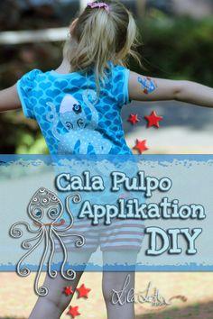 Cala Pulpo - Applikation von Lila-Lotta