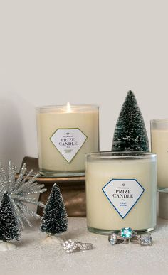 All Natural Soy Candles with Hidden Prizes | Prize Candle