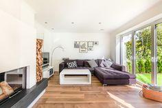 Wohnzimmer Esszimmer Haus bauen wohnen