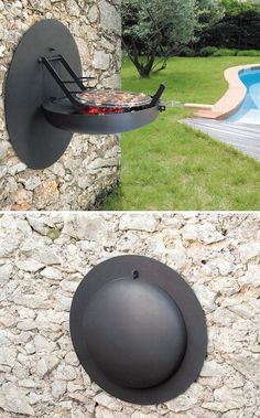 9 Staggering Cool Tips: Simple Fire Pit Pea Gravel rock fire pit.Large Fire Pit Back Yard fire pit terrace pools.Large Fire Pit Back Yard. Bbq Grill, Grilling, Patio Grill, Grill Area, Bbq Area, Parrilla Exterior, Convertible Furniture, Garden Design, House Design