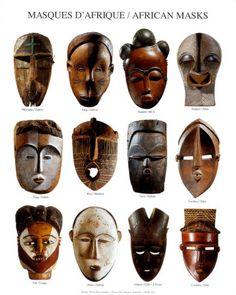 ancient african masks: gullu