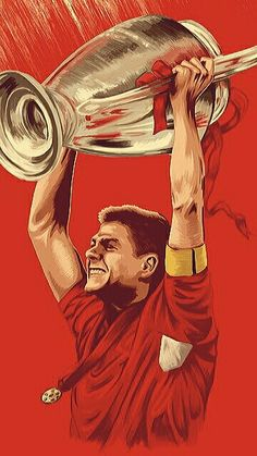 Liverpool Captain, Gerrard Liverpool, Liverpool Anfield, Liverpool Legends, Liverpool Football Club, Liverpool Fc Wallpaper, Liverpool Wallpapers, Football Art, World Football