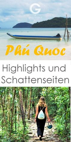Travel Report Phu Quoc with many tips for your trip to the island in the south of Vietnam! Visit Vietnam, Vietnam Travel, Asia Travel, Travel Around The World, Around The Worlds, Travel Report, Travel Images, Hanoi, Wonders Of The World