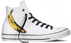 Converse Chuck Taylor All Star Warhol Banana Print White/Black/Freesia