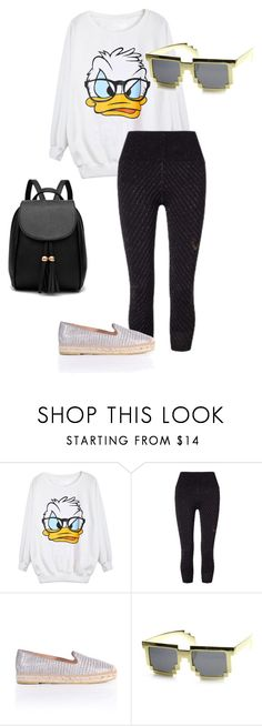 """""""back to school"""" by allybean331 on Polyvore featuring Lucas Hugh, Kanna Shoes and ZeroUV"""
