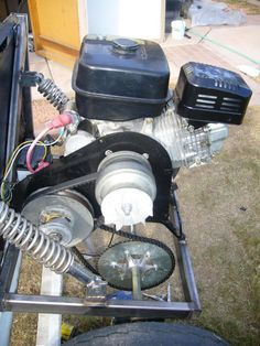 DIY Go Kart Cart Home made Welded image by diywp - Photobucket
