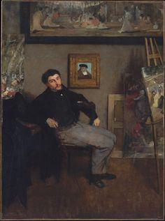 James-Jacques-Joseph Tissot (Edgar Degas).