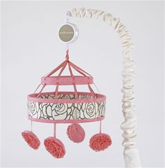 Cute Mobile for a baby girl! Get it now at Treehouse Kids in Cincinnati or order online.