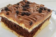 Recipe Nescafé řezy by lussy, learn to make this recipe easily in your kitchen machine and discover other Thermomix recipes in Dezerty a sladkosti. Czech Recipes, Russian Recipes, Ethnic Recipes, Cheesecake, Pavlova, Sweet Desserts, Creative Food, Amazing Cakes, Sweet Tooth