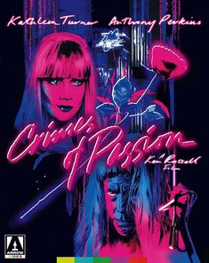 Crimes of Passion (Blu-ray/DVD, 2016, 2-Disc) Arrow/Russell w/Slip Cover! *NEW*