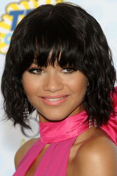 20 Black Hairstyles With Bangs Oozing Mismatched Chic