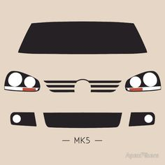 VW Golf MK5 simple front end design
