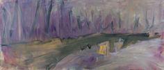 Tomáš Bambušek | Cesta do Tipreri, 208x86cm, olej na plátně, 2013. Tipreri #madeinBUBEC