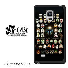 Star Wars Trooper Heads DEAL-10072 Samsung Phonecase Cover For Samsung Galaxy Note Edge