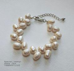 Bracelet freshwater pearls #jewelryForSale #naturalpearls #pearl #jewelry #tashkent #handmade #жемчуг #стиль #ташкент #мода #натуральныйжемчуг #разумныецены