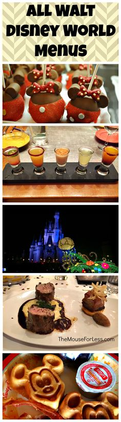 All the latest Walt Disney World Menus - Disney Dining information
