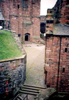 Near The Keep At Carlisle Castle (Carlisle, UK)