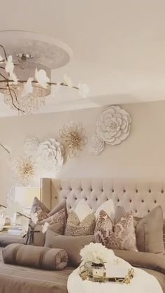 66 Stunning all white glam bedroom decor ⋆ All About Home Decor Luxury Bedroom Design, Bedroom Bed Design, Glam Bedroom, Room Ideas Bedroom, Small Room Bedroom, Home Decor Bedroom, Modern Bedroom, Bedroom Rustic, Ikea Bedroom