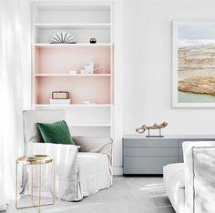 Grey and Pink hue
