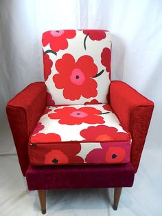 Marimekko Unikko retro armchair
