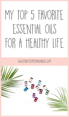 Today I want to talk about my top 5 favorite essential oils for supporting my families health and wellness. These oils are ones I believe should be in every mama's wellness arsenal!
