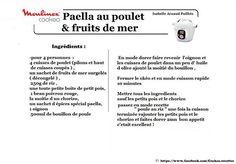 Paella au poulet & fruits de mer